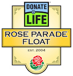 Donate Life Float Rose Parade